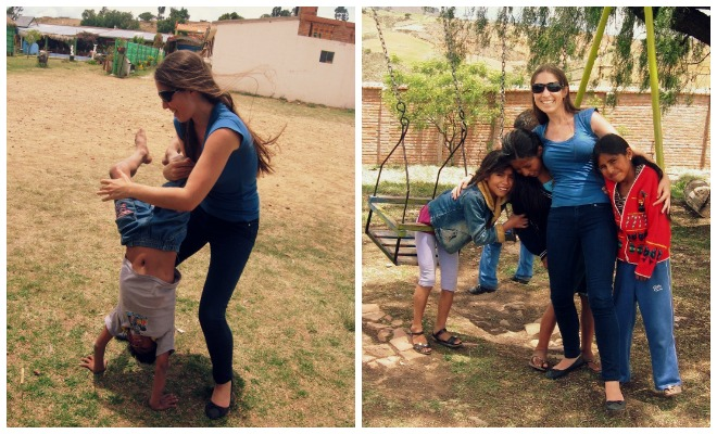 volunteering with children in Sucre bolivia