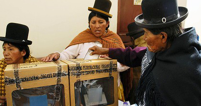 Bolivian General Elections 2014