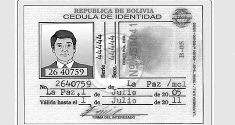 Cedula de Extranjero (Foreigner's ID Card)
