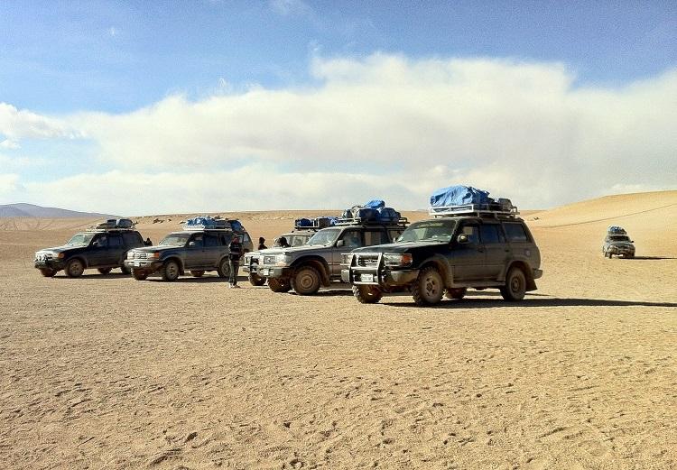 Transport for Salt Flats Tour Uyuni Bolivia