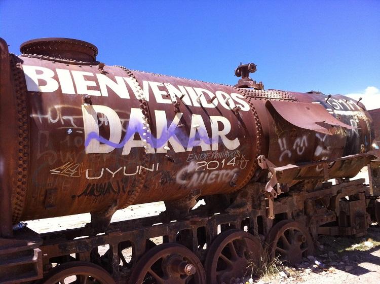 Train Salar de Uyuni Bolivia