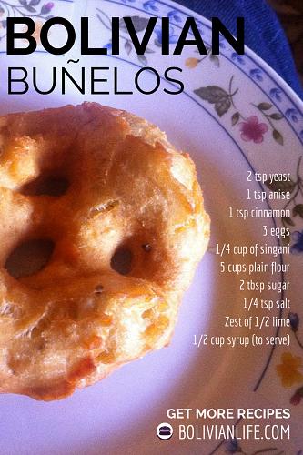 Bolivian Buñelos Christmas Recipe