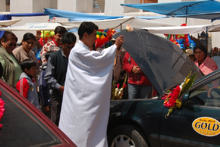 Festival of the Virgen de la Candelaria, Copacabana bolivia 2