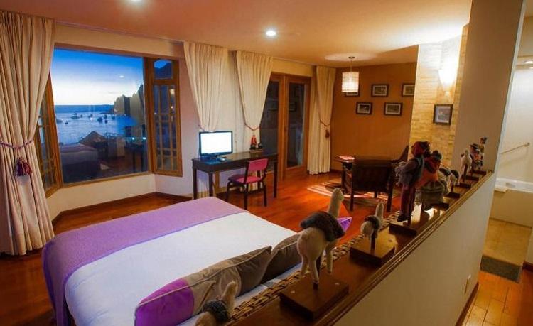 Hotel Rosario Lago Titicaca copacabana bolivia