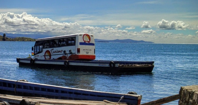 Traveling Between Copacabana And La Paz By Bus