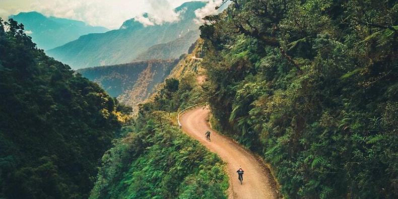 bike ride death road