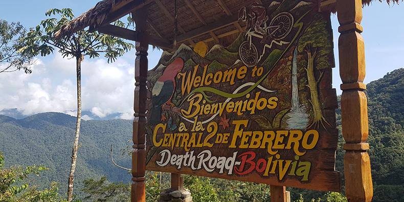death road entrance