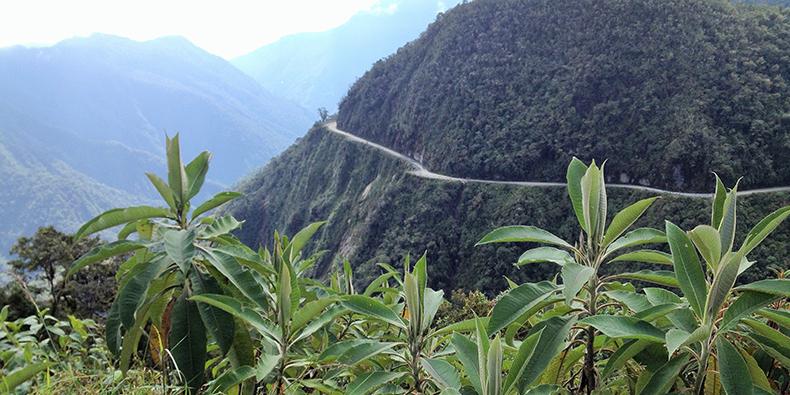 route of death la paz bolivia