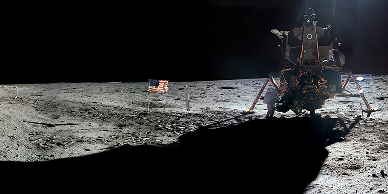 neil armstrong trip to the moon